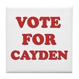 Vote for CAYDEN Tile Coaster