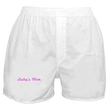 Lesley Mom (pink) Boxer Shorts