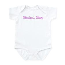 Marina Mom (pink) Infant Bodysuit