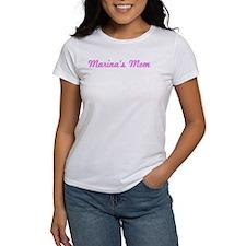 Marina Mom (pink) Tee