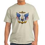 Naval Anchor Tattoo Light T-Shirt