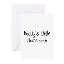 Daddy's Little Homeopath Greeting Cards (Pk of 10)