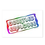 Gruntled/Happy Employee Postcards (Package of 8)