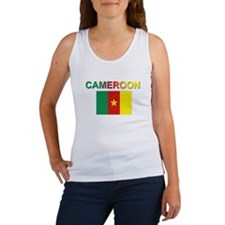Cameroon Flag Women's Tank Top