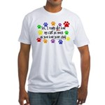 Love cat, child Fitted T-Shirt