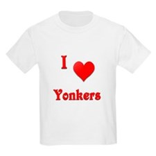 I Love Yonkers #21 T-Shirt