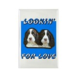 LOOKIN' FOR LOVE Rectangle Magnet
