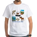 Fremont County, Idaho White T-Shirt