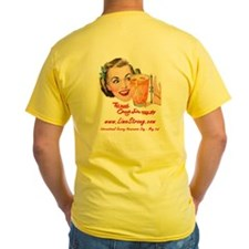 LimeStrong Shirt - End Scurvy! (Yellow)
