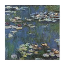 Monet's Water Lilies Tile Coaster