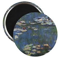 Monet's Water Lilies Magnet