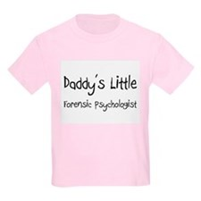 Daddy's Little Forensic Psychologist T-Shirt