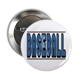Baseball Silhouette Button