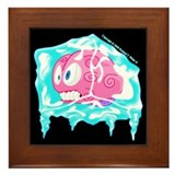 Cute Funny lol Framed Tile