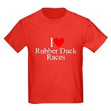 """I Love (Heart) Rubber Duck Races"" T"