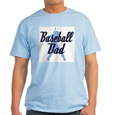 Baseball Dad Ash Grey T-Shirt