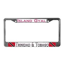 Unique Usvi License Plate Frame