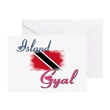 Island Gyal - Trini Greeting Card