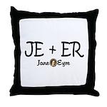 JE+ER Throw Pillow