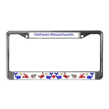 Funny Bostons License Plate Frame