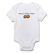 Mommy & Daddy's Peanut Infant Bodysuit