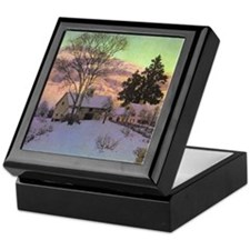 Alpenglow Keepsake Box