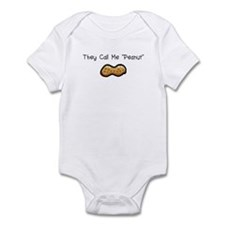 "They Call Me ""Peanut"" Infant Bodysuit"