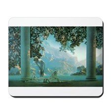 Cute Maxfield parrish Mousepad