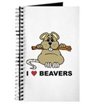I Love Beavers Journal