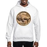 Nickel Buffalo Hooded Sweatshirt