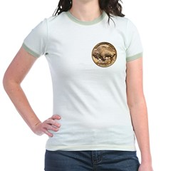 Nickel Buffalo Jr. Ringer T-Shirt