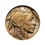 Nickel Indian Head Ornament (Round)