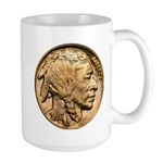 Nickel Indian Head Large Mug