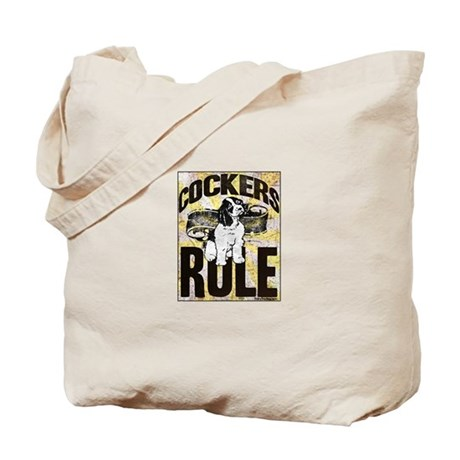 Cockers Rule Tote Bag