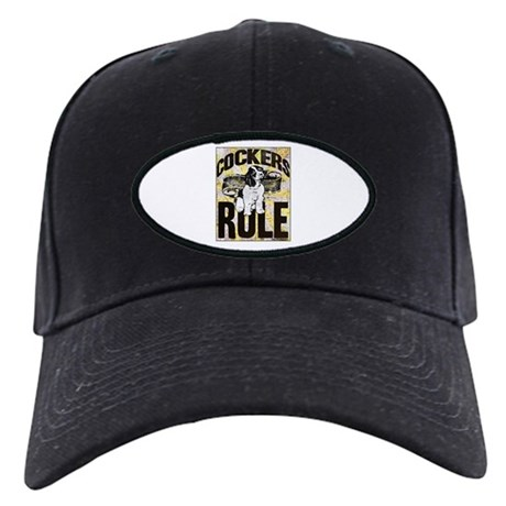 Cockers Rule Black Cap