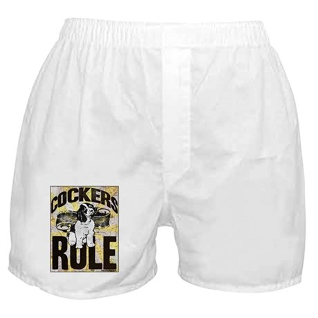 Cockers Rule Boxer Shorts