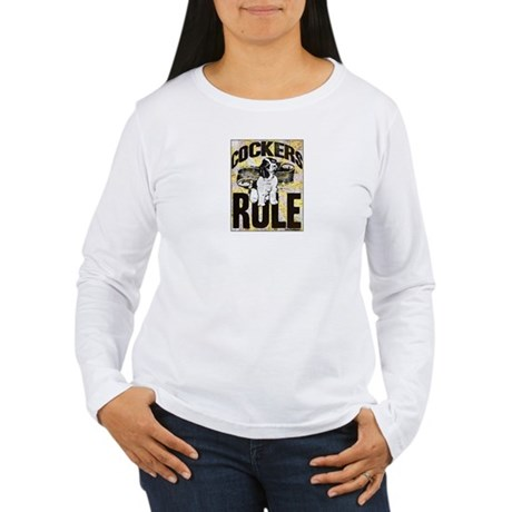 Cockers Rule Women's Long Sleeve T-Shirt