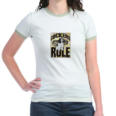 Cockers Rule Jr. Ringer T-Shirt