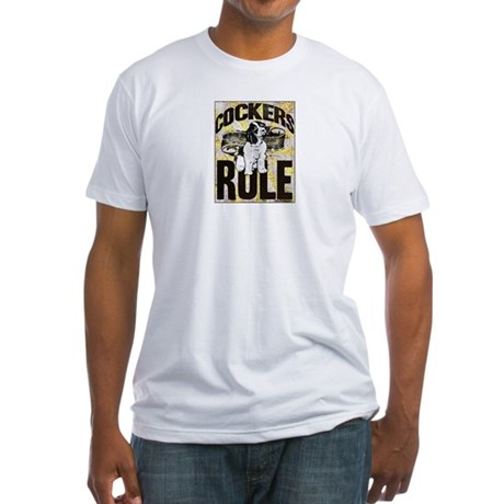 Cockers Rule Fitted T-Shirt