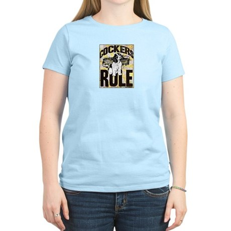 Cockers Rule Women's Light T-Shirt