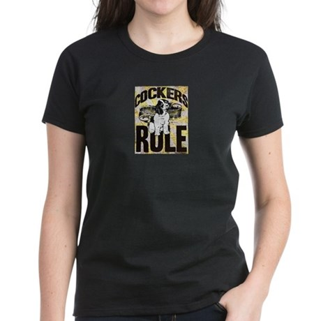 Cockers Rule Women's Dark T-Shirt
