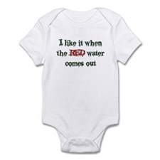 Red Water Infant Bodysuit