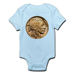 Nickel Indian Head Infant Bodysuit