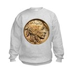 Nickel Indian Head Kids Sweatshirt