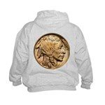 Nickel Indian Head Kids Hoodie