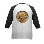 Nickel Indian Head Kids Baseball Jersey