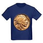 Nickel Indian Head Kids Dark T-Shirt