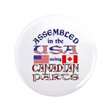 "USA / Canadian Parts 3.5"" Button (100 pack)"