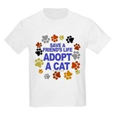 Save life, cat. Kids T-Shirt
