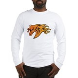 Tribal Tattoo horse Long Sleeve T-Shirt
